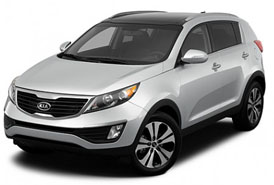 KIA Sportage SUV 4�4 added to Cuba rent a car fleet