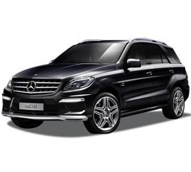 REX Rent a CAR Cuba Mercedes ML SUV 4�4